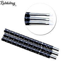 2016 KADS Wholesale10set Pack Black100 Kolinsky Sable Nail Art Acrylic Brush Pen Flat Brushes Kit Nail