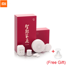 Original Xiaomi Smart Home Kit Infrared Human Body Sensor New Gateway Door Window Sensor Wireless Switch ZigBee Socket 5 in 1