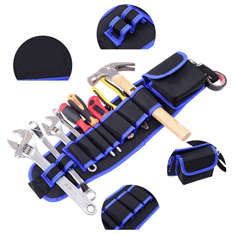 Handyman Tool Belts Multi-pocket Waist Bags Construction Working Apron Practical Multifunctional Toolkit Bag