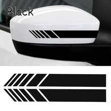 2pcs Rear View Mirror Sticker Reflective Car Stickers and Decals Car Rearview Mirrors Decoration Exterior Accessories mk7
