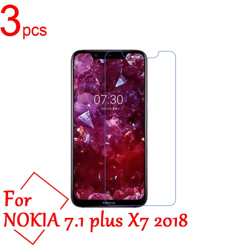 3pcs Ultra Clear/Matte/Nano LCD <font><b>Screen</b></font> <font><b>Protector</b></font> guard Cover For <font><b>Nokia</b></font> 2.1 3.1 <font><b>5.1</b></font> 6.1 7.1 plus X5 X6 X7 2018 Protective Film image