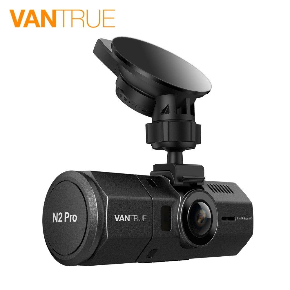Vantrue N2 Pro Dash Cam Dual Lens Dash Camera FHD 1080P Uber Car DVR Camera Video Recorder With Super Night Vision Parking Mode