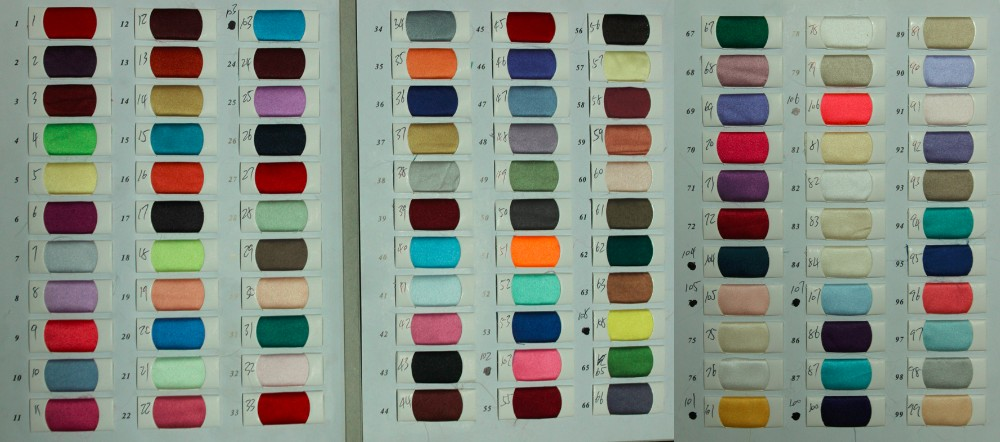 hongxing color chart