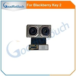 Dla BlackBerry Keytwo klucz dwa 2 główne tylne duży aparat z tyłu Flex Cable tylna kamera dla BlackBerry Key2 części zamienne