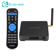 VORKE Z1 TV BOX Amlogic S912 4 K Intelligent Android 6.0 TV BOÎTE 3G DDR4/32G mem 802.11AC WiFi HDMI Bluetooth Mini PC TV BOÎTE