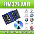 2016 Высокое Качество Новая Версия Elm327 WI-FI Сканер Диагностический Инструмент OBD2 Wi-Fi Elm 327 Сканер Беспроводной Elm327 Китай Поддержка Всех IOS