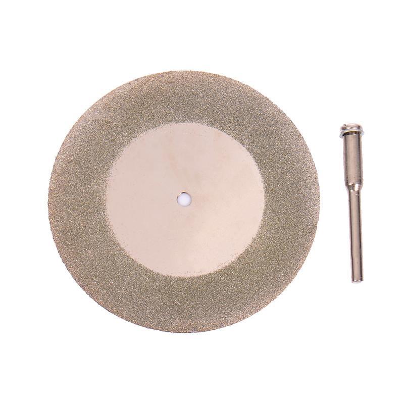 5pcs 50mm Diamond Cutting Disc & Drill Bit Set Rotary Tool Blade For Wood Metal Stone Cutter Power Tools Accessories