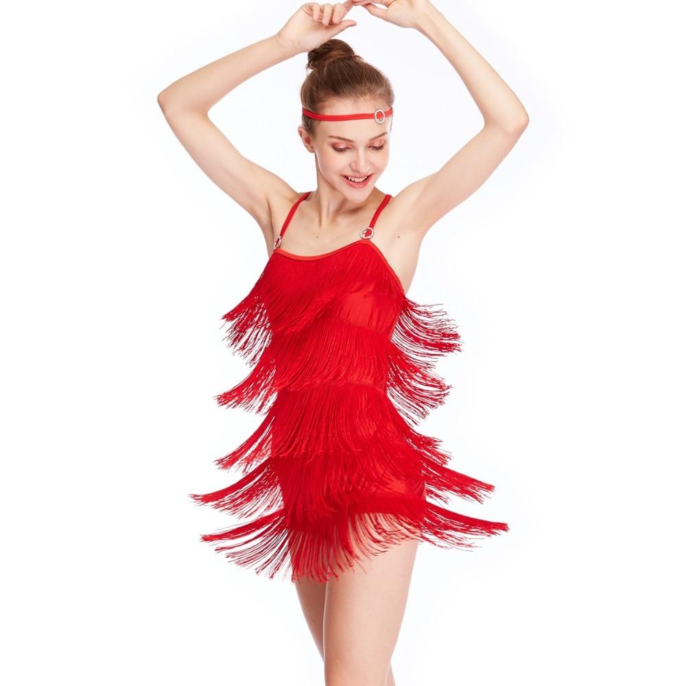 Robe latine à franges MiDee robe Salsa robe pas cher Costume de danse de salon en ventes