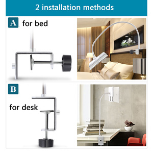 Image 5 - Cell Phone Holder 360 Flexible Gooseneck Mount Bed Desk Lazy Stand for 3.5 10.6 Phones iPhone 7 8 Plus Huawei Mate Se 20 Xiaomi