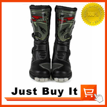 Great Quality Hot Wheels War scorpion PRO BIKER Racing Shoes Motorcycle boots Cross-country boots Knight boots Competition Shoes