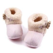 Confortable bébé chaussures d'hiver bébé fille/garçon chaussons nouveau-né tout-petits enfants confortable berceau chaussures