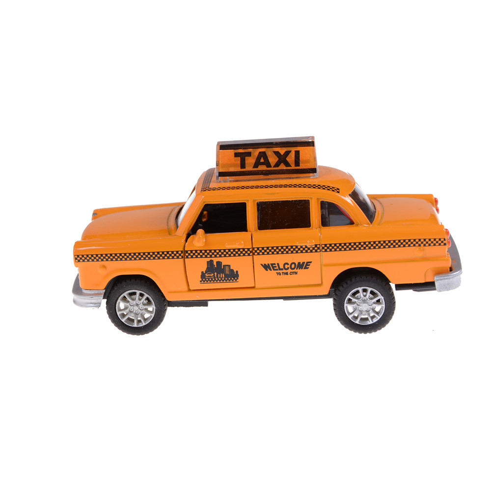 Minecraft taxi alloy car model for kids toys wholesale diecast toy car hot wheels 1