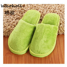 Whoholl Women Winter Solid Bread Lovers Adult Slippers Indoor Floor Home Shoes Bedroom Warm Soft Slippers Unisex Funny Gift 9.5 flax funny adult slippers women house shoes indoor pantufas cute bedroom slippers home lovers chaussons zapatillas casa mujer