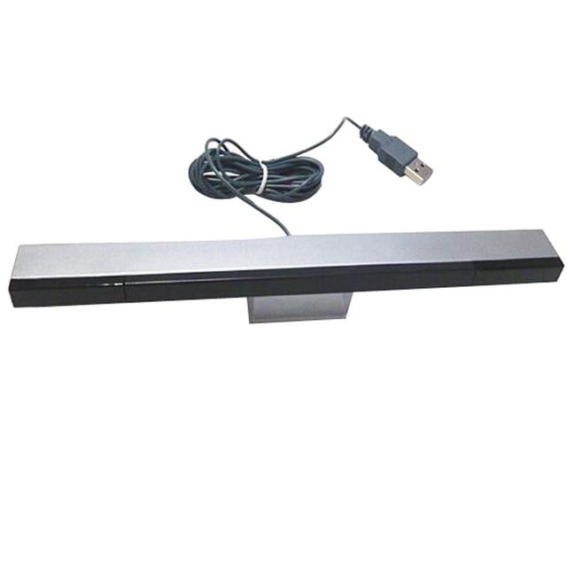 New USB TV Hồng Ngoại Ray Có Dây Cảm Biến Từ Xa Bar Receiver Cuộn Cảm đối với Nintendo Wii Console