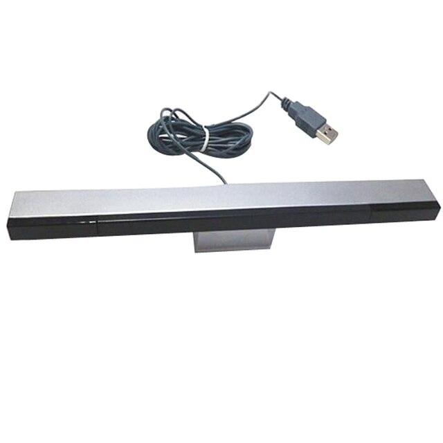 חדש USB אינפרא אדום טלוויזיה Ray קווית מרחוק חיישן בר מקלט משרן עבור Nintendo Wii קונסולה