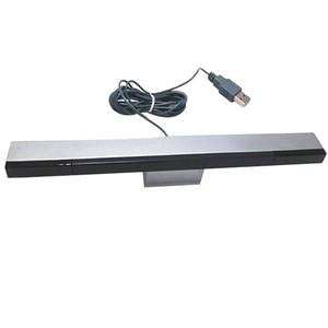 Image 1 - Новый USB Инфракрасный ТВ приемник, проводной пульт дистанционного управления с датчиком, индуктивность для консоли Nintendo, Nintendo и Nintendo