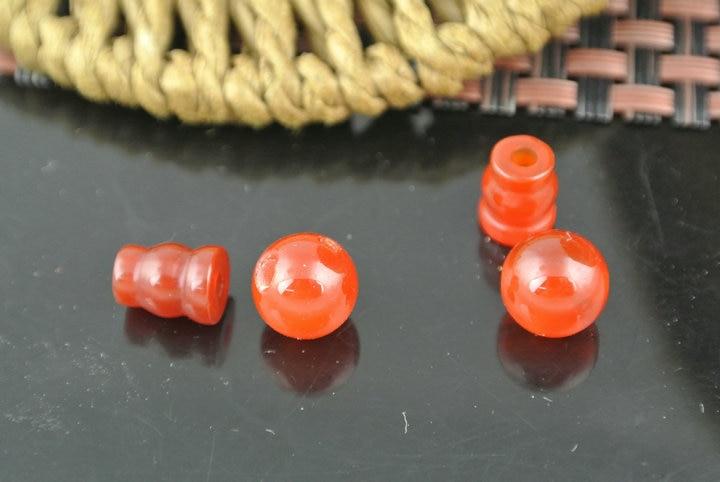 Natürliche Rote Stein 10mm Guru Muzhu Perlen Für Gebet Armbänder Machen Steckverbinder Schmuck Erkenntnisse 10 Satz/los