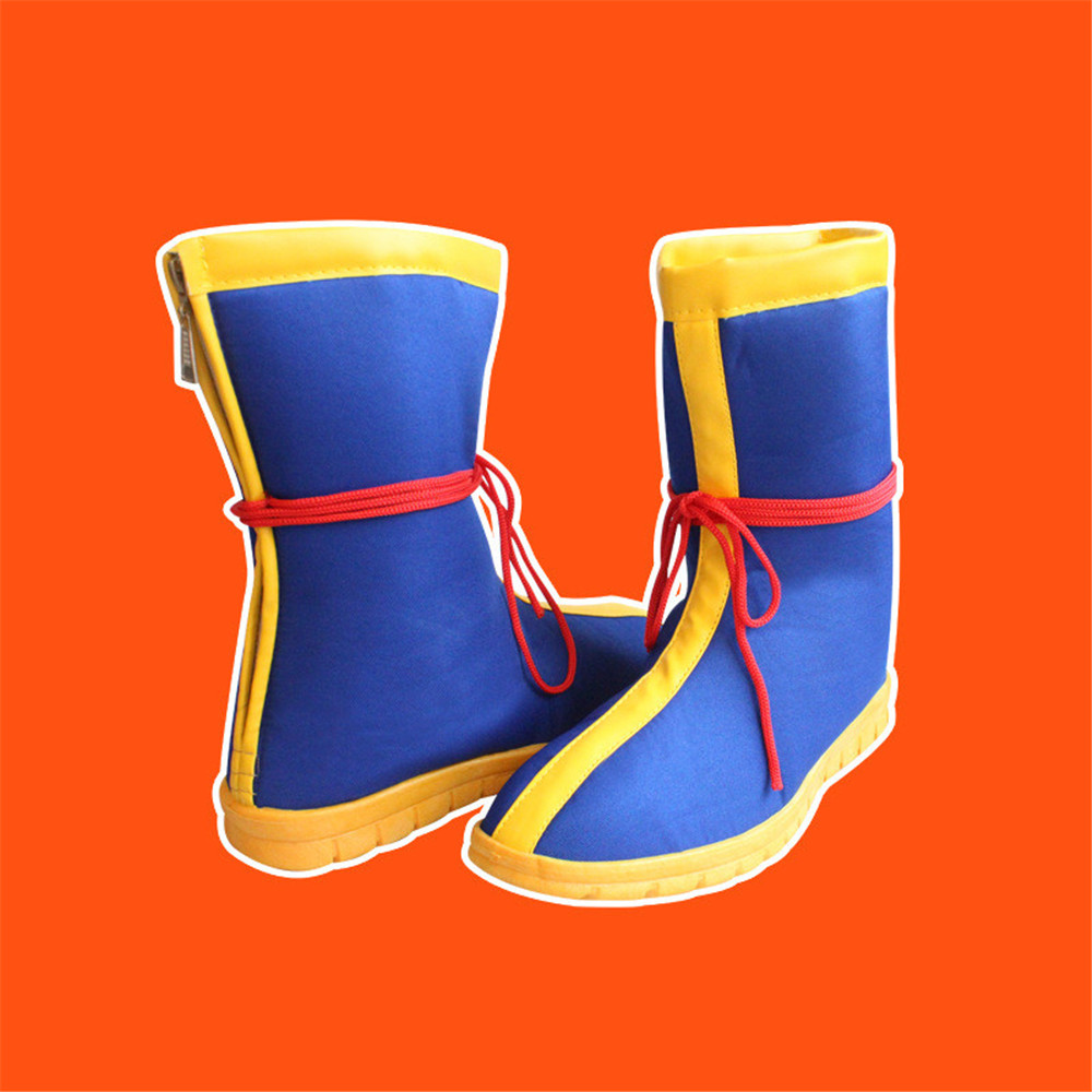 Dragonball Dragon Ball Goku Cosplay Shoes Boots Halloween Boot Unisex
