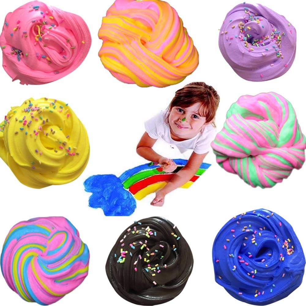 צבעוני בבוץ כותנה לשחרר צעצועים חימר - למידה וחינוך