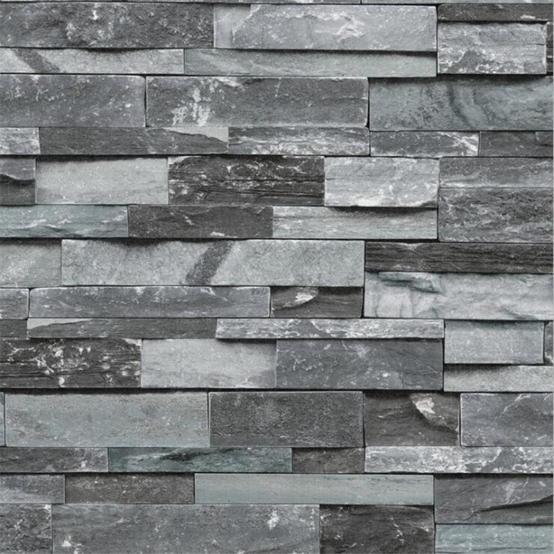 Beibehang Simulation 3d brick wallpaper living room television background wall paper culture stone wallpaper papel de parede brick pattern wallpaper brick retro culture stone wallpaper brick industrial wind loft coffee restaurant background wallpaper