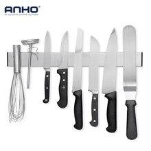 ANHO ножи держатель Магнитный 16 дюймов рекламная лента нержавеющая сталь блок хранения Scissor Rack Бар Кухня Посуда интимные аксессуары