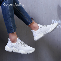 Golden Sapling High Quality Running Shoes for Women Fitness GYM Outdoor Sport Shoes Female 2019 Summer Air Mesh Women's Sneakers