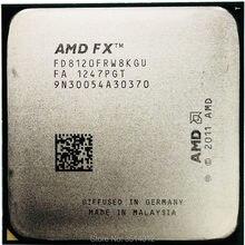 Amd fx-series FX-8120 fx 8120 125 w 3.1 ghz processador cpu de oito núcleos fd8120frw8kgu soquete am3 +