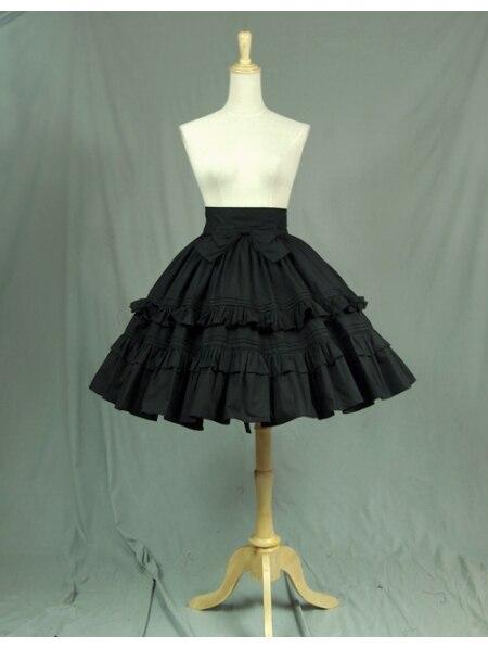 Courte Arc Noir Lolita Sweet Classique Jupe xBxdqX0a