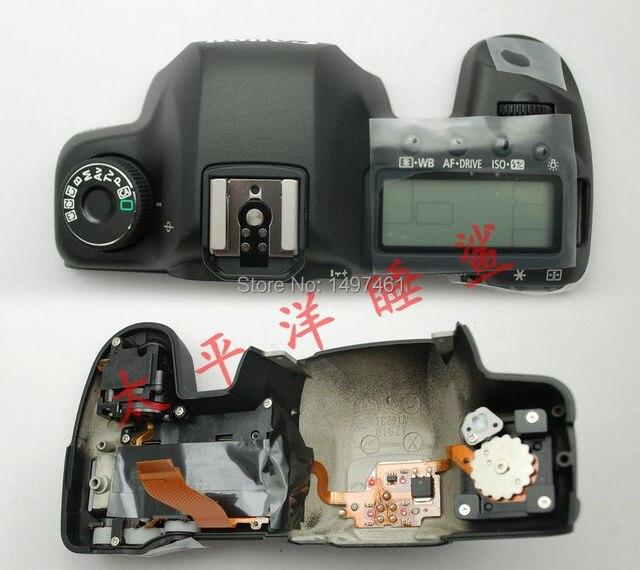 Новые оригинальные Топ крышка в сборе с Плеча экран и кнопки для Canon EOS 5D Mark II; 5D2; 5DII; DS126201 ЗЕРКАЛЬНЫЕ ФОТОКАМЕРЫ