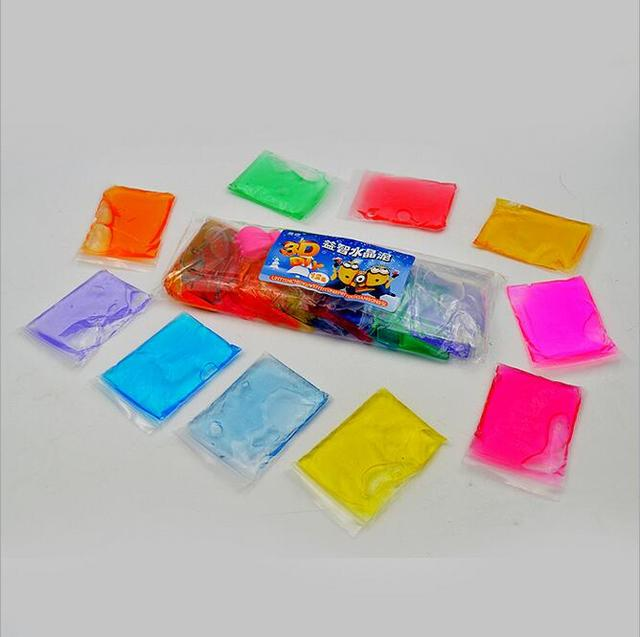 Кристалл Грязи play doh 12 цветов для детей Fimo Полимерная Воздух Сухой глины пластилин магия play-doh детская кристалл почвы Мешок пакет