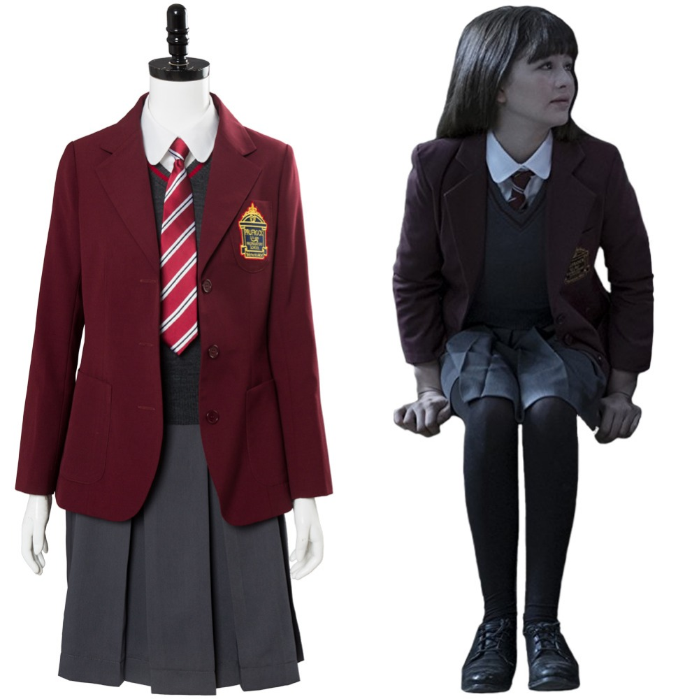 Lemony Snicket A Series of Unfortunate Events Violet Baudelaire COSplay Costume