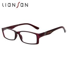 LianSan 2017 New Vintage Retro Unisex Reading Glasses Women Men Luxury Brand Designer Presbyopic Hyperopia Eyewear Fashion L6500