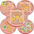 5 в 1 Многофункциональный Деревянный Шахматная Доска Детей Разведки Образования Шахматы Настольная Игра Судоку