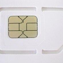 100 шт./лот записываемая программируемая пустая SIM USIM карта 4G LTE WCDMA GSM стандартная Micro Nano SIM карта FF 3FF 4FF три размера в одном