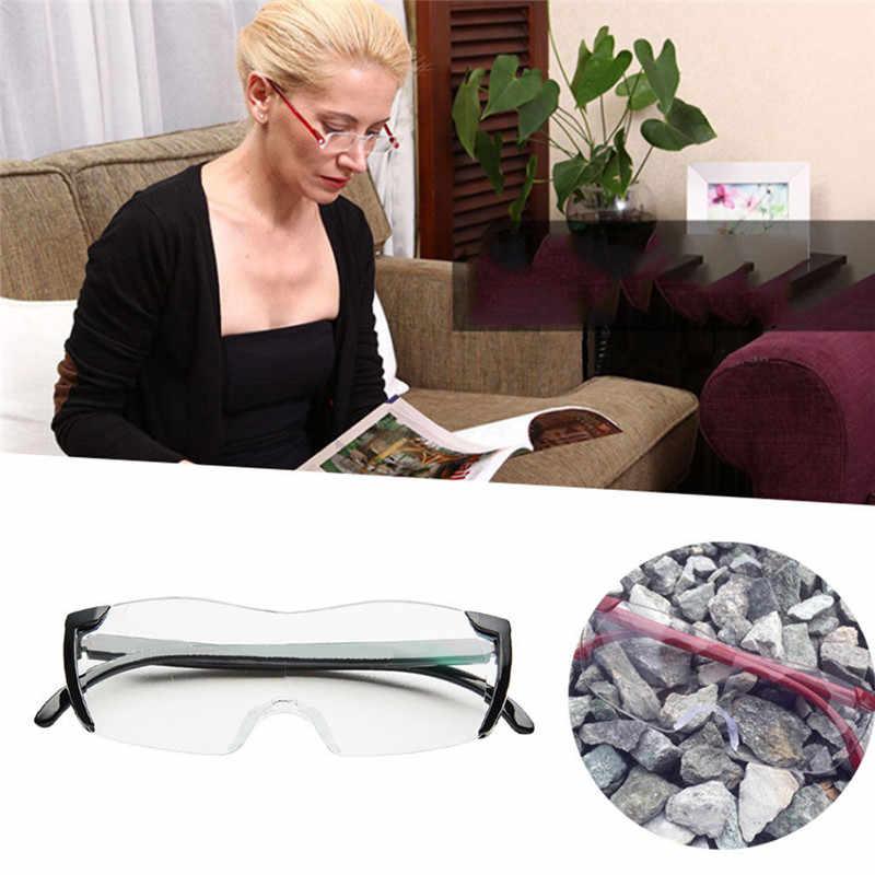 250 градусов увеличительные защитные очки пресбиопическая Лупа увеличительные очки модные бинокль лупа