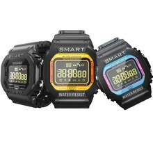 2019 contraluz impermeable a recordar rastreador de ejercicios inteligente Bluetooth reloj(China)