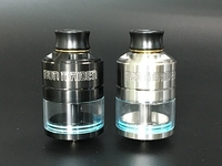 Original Hellvape Iron Maiden RDTA 30mm Diameter Anti Spit Back System 8ml Capacity Vs Hellvape Dead
