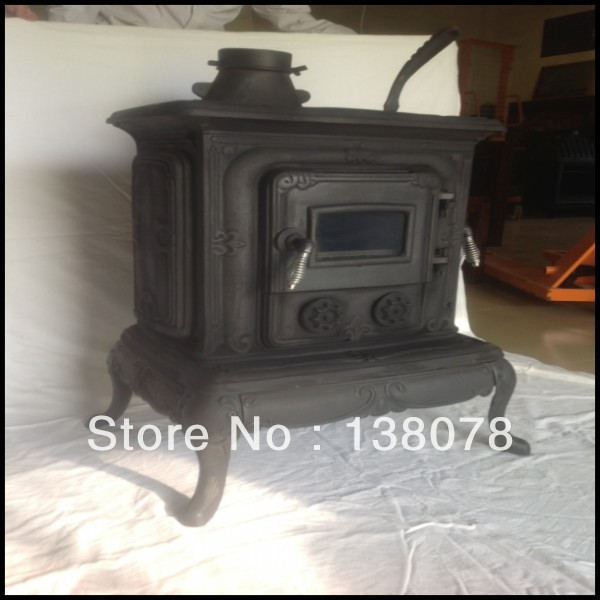 England Hot Sale Wood Burning Cast Iron Outdoor Fireplace In
