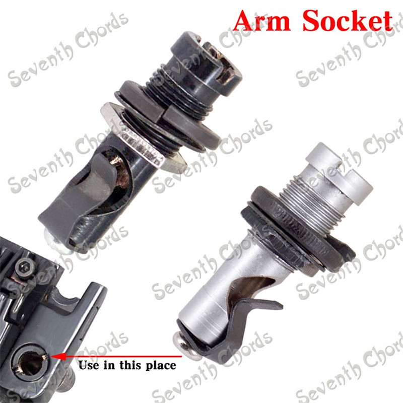 Direct Insertion Styles Tremolo Arm Socket Whammy Bar Jack For Electric Guitar Tremolo Bridge Replacement parts альбом cephalotripsy uterovaginal insertion of extirpated anomalies
