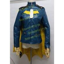 Hero catcher alta calidad por encargo batgirl cosplay batgirl abrigo