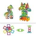 Мини 60 ШТ. DIY Магнитные Блоки Развивающие Игрушки Модели Здания детских Книг Магнитный Construction Set