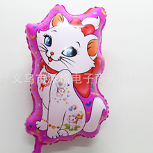 Hot Sale  Baby Toys Foil Balloons Birthday Classic Toys Nnimal Inflatable Mary Cat Balloons Party Decoration Free Shipping