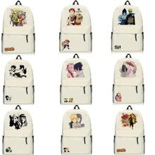 High-Q Unisex Anime NARUTO Backpacks Cartoon Preppy Student School Casual Uzumaki Naruto Backpacks Luggage Bags