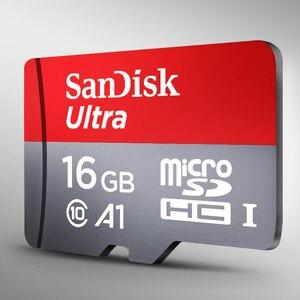 Image 2 - サンディスクメモリカード 8 ギガバイト C4 16 ギガバイト 32 ギガバイト micro sd 64 ギガバイト 128 ギガバイト 256 ギガバイト 100 メガバイト/秒 Class10 micro sd sdhc sdxc トランスフラッシュドライブメモリカード
