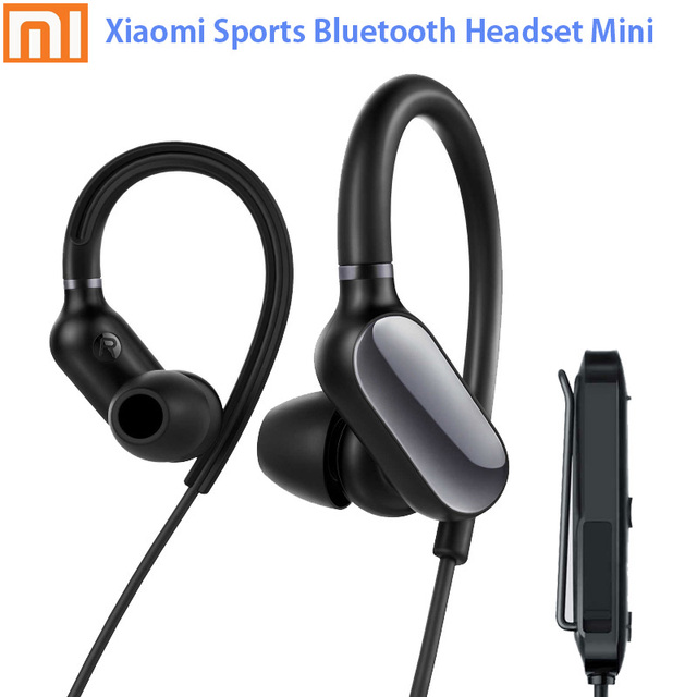 c297959a59c In Stock Original Xiaomi Mi Sports Bluetooth Headset Mini Bluetooth 4.1  Music/Sport Earbud Mic IPX4 Waterproof Wireless Earphone