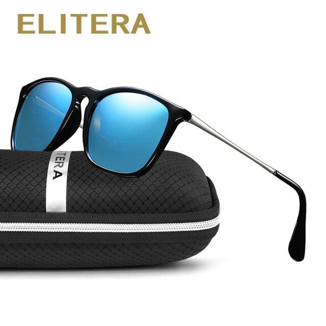 23f830d02 ELITERA Polarizada óculos de Sol Das Mulheres Dos Homens Designer de Marca  Original Espelho Reflexivo Óculos