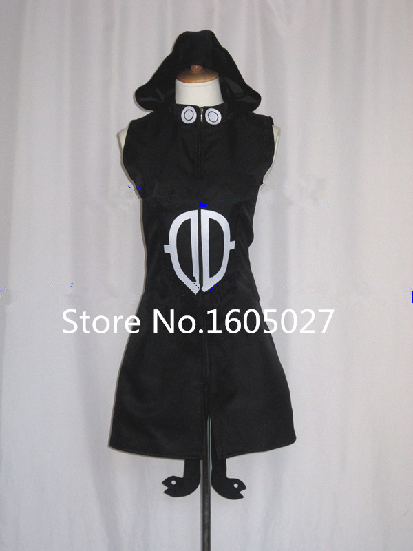 SOUL EATER Death the Kid Medusa Childhood Lolita Sorceress Dress Hallowmas Clothing Cosplay Costume Custom-made Any Size NEW