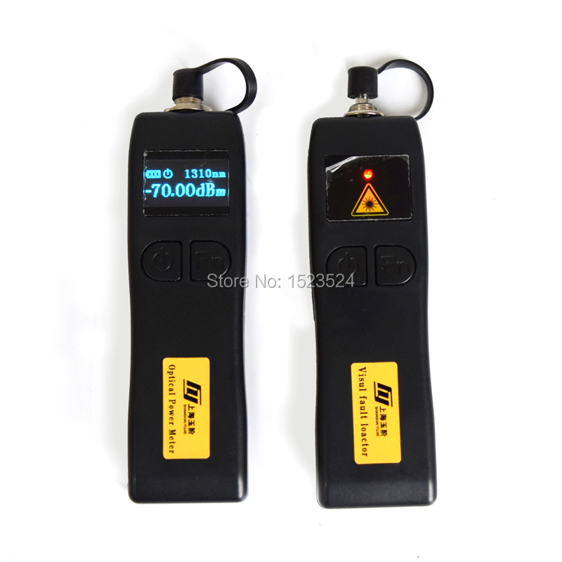 YJ320A -70~+6dBm Mini Optical Power Meter With YJ200P Mini Fiber Optic Visual Fault Locator Cable Tester 10mw