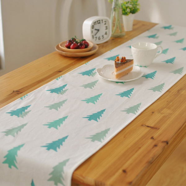 sk table runner Korean fresh tablecloths decorated hotel cafe cloth table runner napkin high-grade foreign trade ...