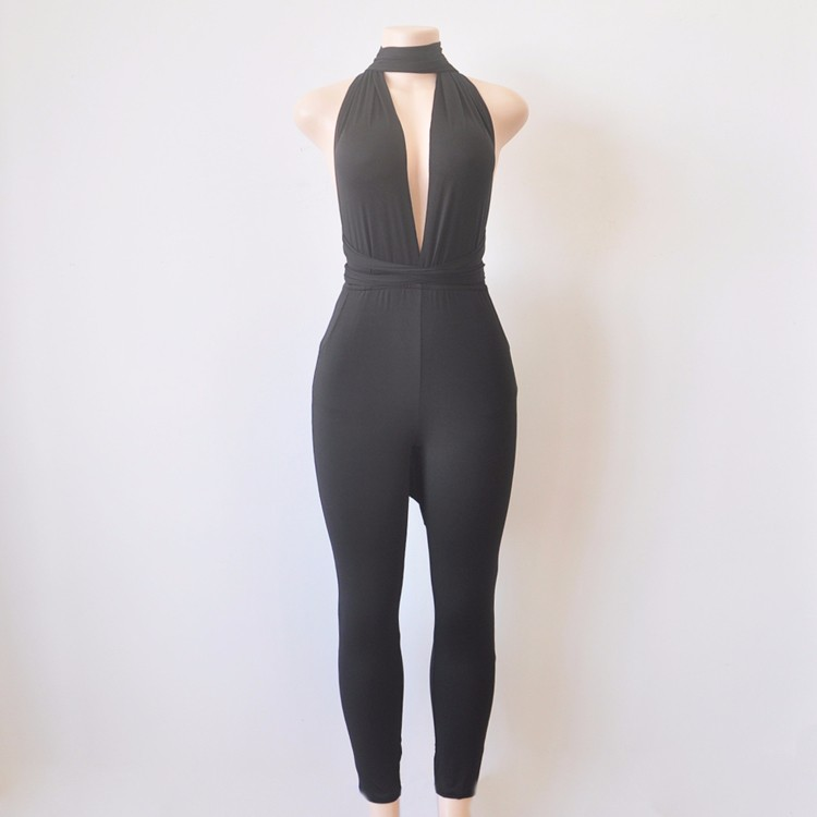 black elegant jumpsuit 1